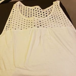 🎊$10 sale🎊 NWT white Old Navy tank top